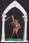 Gothic Archway (Christmas Ornament / Figure Display)