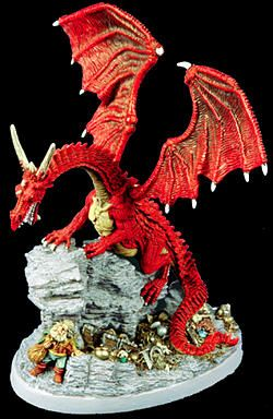 Dragons don't Share (Limited Edition - Discontinued), 10003 Reaper Miniatures, Inc.
