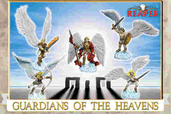 Guardians of the Heavens, 10007 Reaper Miniatures, Inc.