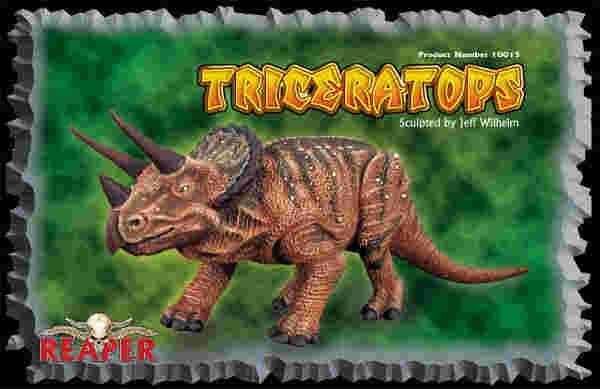 Triceratops (Discontinued), 10015 Reaper Miniatures, Inc.