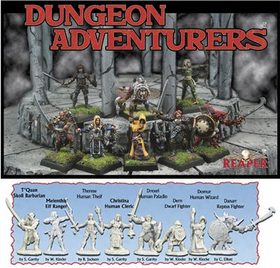 Dungeon Adventurers, 10027 Reaper Miniatures, Inc.