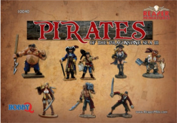 Pirates of the Dragonspine Sea III (8), 10040 Reaper Miniatures, Inc.