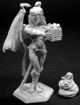 2003 Christmas Sophie, 72mm, 1408 Reaper Miniatures, Inc.