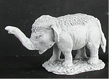 Babu, Baby Elephant (Tsunami Disaster Relief) (Discontinued), 1410 Reaper Miniatures, Inc.