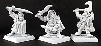 Goblin Rangers (3) (Discontinued), 14223 Reaper Miniatures, Inc.