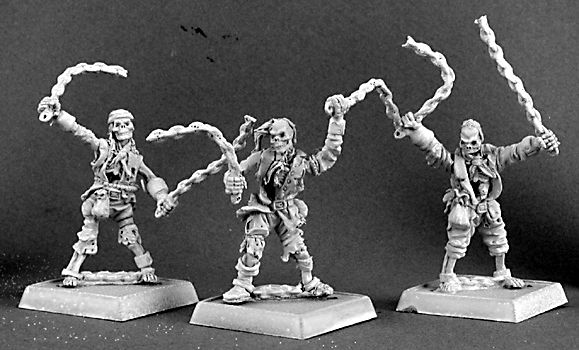 Skeletal Chain Gang (3) (Discontinued), 14276 Reaper Miniatures, Inc.
