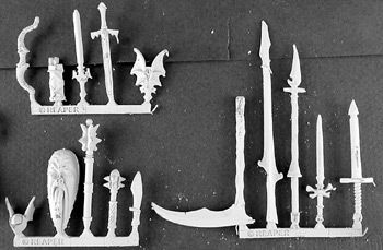 Necropolis Weapons Pack (15), 14295 Reaper Miniatures, Inc.