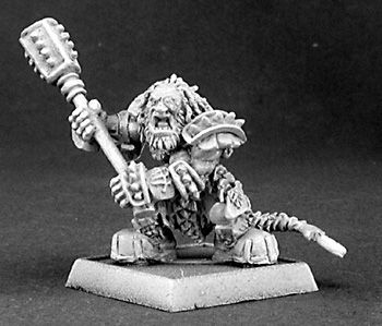 Thunganir, Dark Dwarf Captain (OOP), 14337 Reaper Miniatures, Inc.