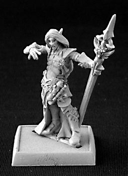 Larnach, Gray Elf Mage, 14450 Reaper Miniatures, Inc.