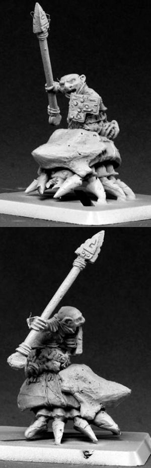 Bloodstone Gnome Beetle Lancer, 14548 Reaper Miniatures, Inc.