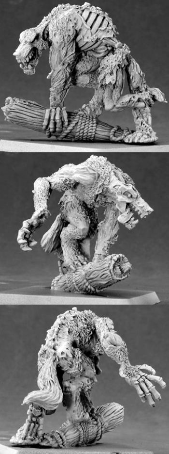 Salty Dog, Undead Werewolf, 14563 Reaper Miniatures, Inc.