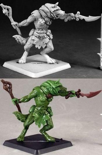Warlord Rageclaw Shaman Reaper Minatures Luta 14613