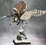 Hrolfgad Loftsaddle, Dwarf Griffon Rider