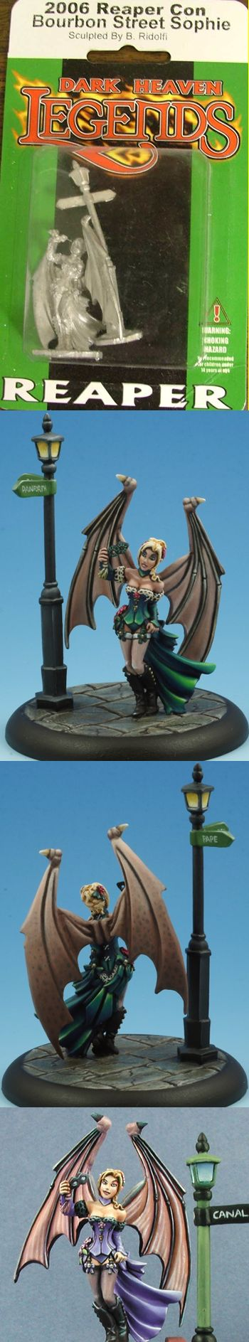 Reaper Con 'Bourbon Street' Sophie '06 (Limited Edition, Discontinued), 1503 Reaper Miniatures, Inc.