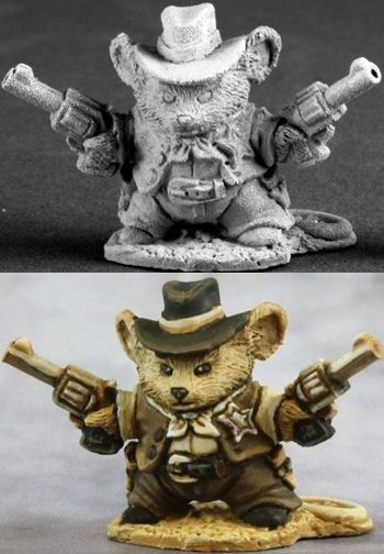 2011 Convention-Only, Monterey Jack Cowboy Mousling (Limited Edition, Discontinued), 1515 Reaper Miniatures, Inc.