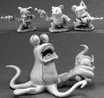 Space Mouslings: Terror on Planet X (4) (Limited Edition, Discontinued)