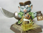 2012 Convention-Only, Cap'n Willie Sharp Pirate Mousling (Limited Edition, Discontinued)