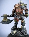 Anvall Thricedamned, Evil Warlord (resin) (Numbered Limited Edition, Discontinued)
