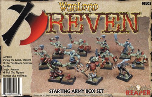 Warlord - Reven Started Box Set (Discontinued), 16502 Reaper Miniatures, Inc.