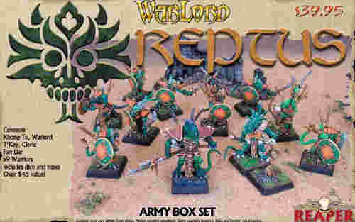 Warlord - Reptus Started Box Set (Discontinued), 16508 Reaper Miniatures, Inc.
