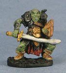 Orc Warrior with Scimitar