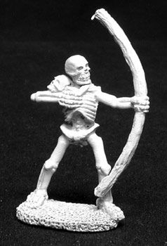 Skeletons w/Bows (5 of 2013) (Discontinued), DHA5002 Reaper Miniatures, Inc.