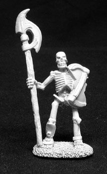 Skeleton w/Halberd (5 of 2014) (Discontinued), DHA5003 Reaper Miniatures, Inc.
