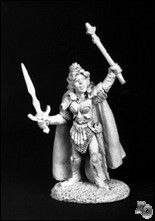 Elisha Lights Edge (OOP), 2028 Reaper Miniatures, Inc.
