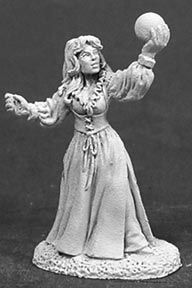 Sarah the Seeress (OOP), 2030 Reaper Miniatures, Inc.
