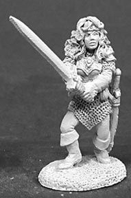 Samantha of the Blade (OOP), 2047 Reaper Miniatures, Inc.
