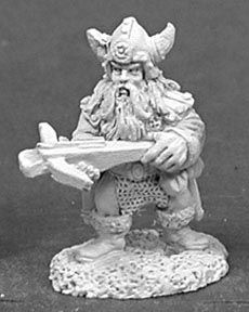 Dwarf w/Crossbows (5 of 2062) (Discontinued), DHA5005 Reaper Miniatures, Inc.