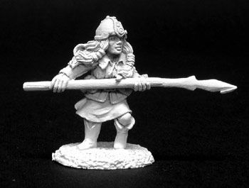 Dwarf w/Spears (5 of 2085) (Discontinued), DHA5006 Reaper Miniatures, Inc.