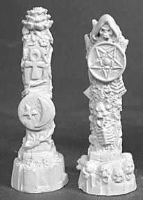 Pillars of Good and Evil (2) (OOP), 2094 Reaper Miniatures, Inc.