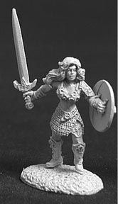 Brianna of the Blade (OOP), 2267 Reaper Miniatures, Inc.