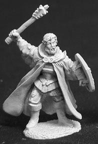 Unthar Godshand, High Priest of Anarion (OOP), 2340 Reaper Miniatures, Inc.