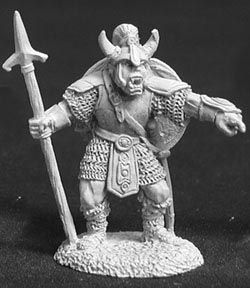 Skaar, Orc Warlord of the Woodpike (OOP), 2342 Reaper Miniatures, Inc.