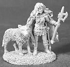 "Shawna ""Wolfsister"" with Wolf (OOP)"