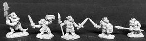 Kobold Warriors (5), 2470 Reaper Miniatures, Inc.