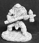 Thain Grimthorn, Dwarven Warrior (OOP)