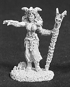 Bria, Female Necromancer (OOP), 2504 Reaper Miniatures, Inc.