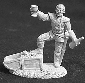 Rudiger, Triumphant Pirate Lord (OOP), 2508 Reaper Miniatures, Inc.