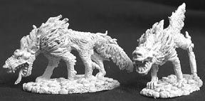 Hell Hounds (2) (OOP), 2522 Reaper Miniatures, Inc.