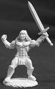 Brand, Male Barbarian (OOP), 2529 Reaper Miniatures, Inc.