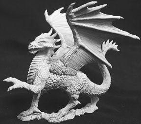 Silver Dragon (95mm) (OOP), 2539 Reaper Miniatures, Inc.