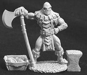 Logar the Executioner (3 Pieces) (OOP), 2547 Reaper Miniatures, Inc.