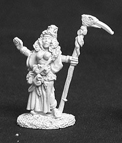 Fiona Redfinch, Female Druid (OOP), 2566 Reaper Miniatures, Inc.