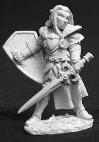Telemnar Dawntreader, Elf Warrior (OOP), 2571 Reaper Miniatures, Inc.