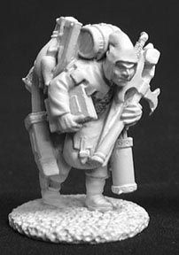 Oswald the Overladen Henchman (OOP), 2572 Reaper Miniatures, Inc.