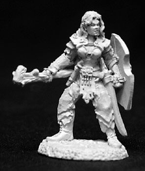 Danra, Female Druid (OOP), 2693 Reaper Miniatures, Inc.
