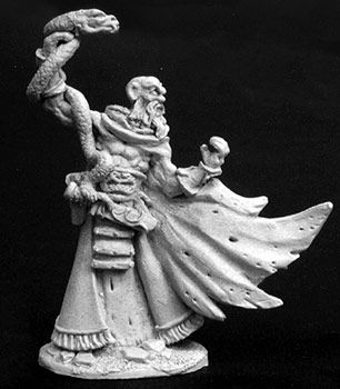 Taenar the Scaly, Cultist Leader (OOP), 2797 Reaper Miniatures, Inc.